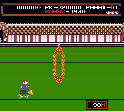 Марио циркач