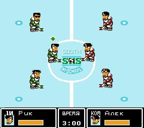 Игра «Хоккей без правил» - Спортивные, играй онлайн